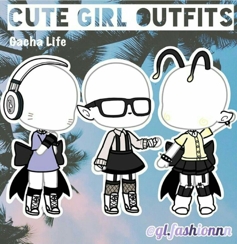 Gachaoutfits Gachalife Clothing Sketches Character Outfits