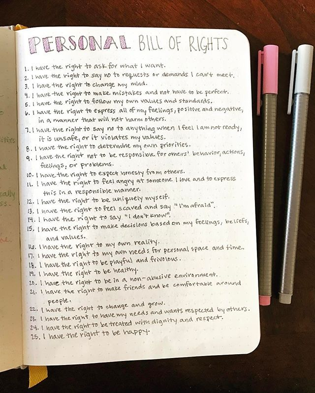 When you are living with mental illness, you need to remember your personal rights. You need to remember that it is okay to ask for help,… #mentalhealthjournal