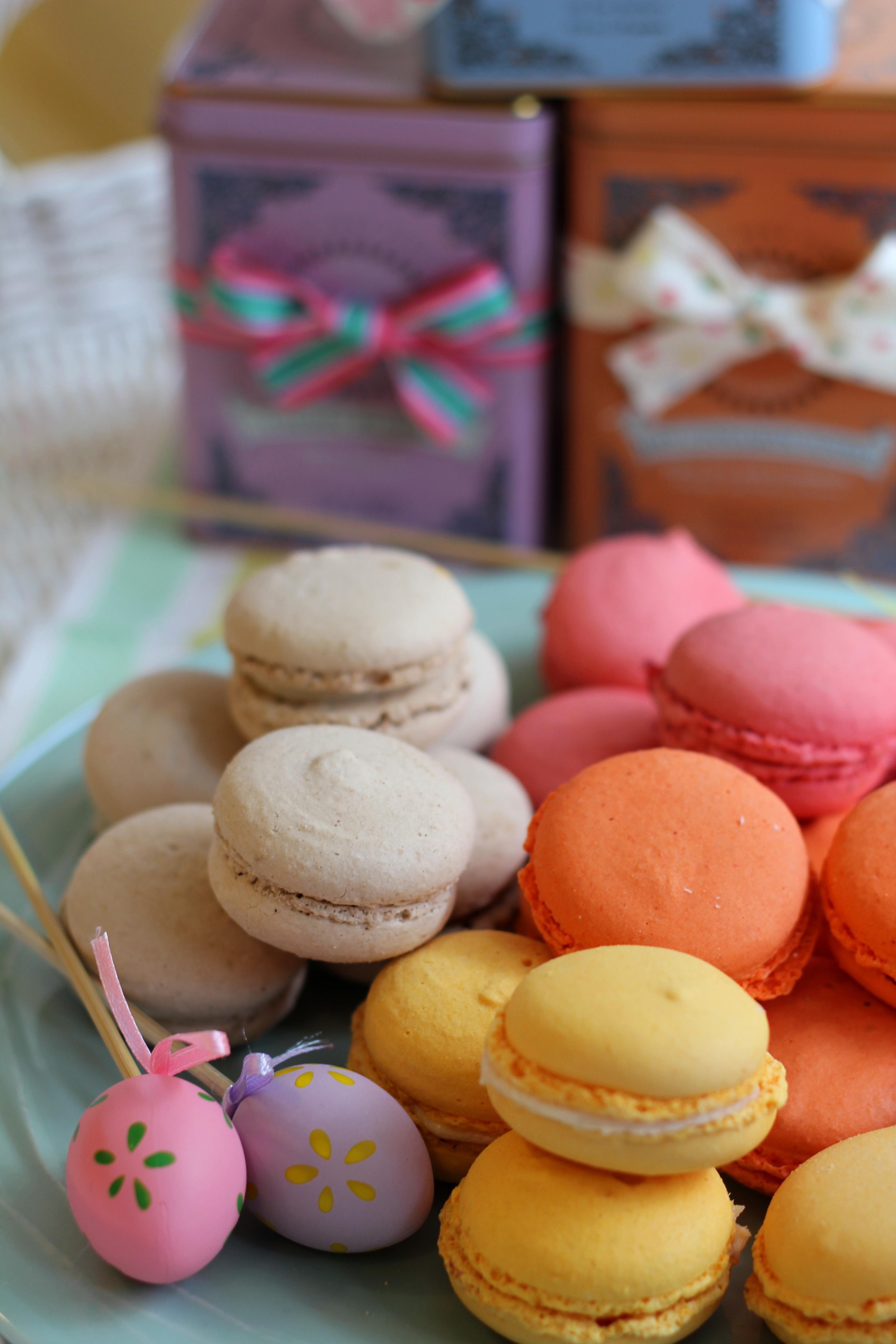 Martina´s macarons and Harney & Sons teas: 42€/kg of macarons. Los macarons de Martina y los tés de Harney & sons, una combinación irresistible: 42€/kg de macarons.  www.facebook.com/martinazuricaldaybilbao