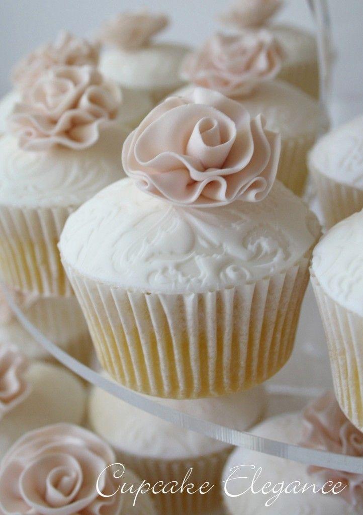 Dessert size cupcakes modern wedding cake wedding