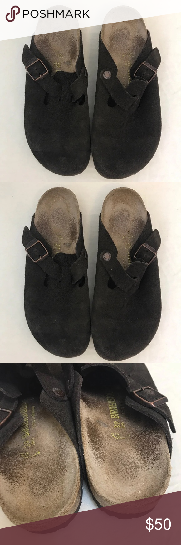 Birkenstock Boston Clogs Sandals size 39 Size : 39