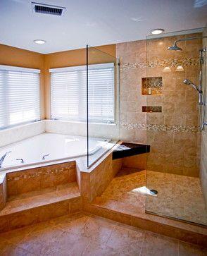 Jdbg Bathroom Remodel With Corner Soaking Tub With Tile Surround