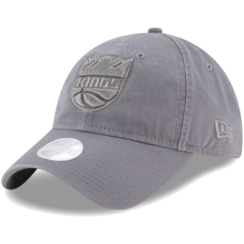 b59900593 Sacramento Kings New Era Women's Preferred Pick Tonal 9TWENTY Adjustable Hat  - Gray
