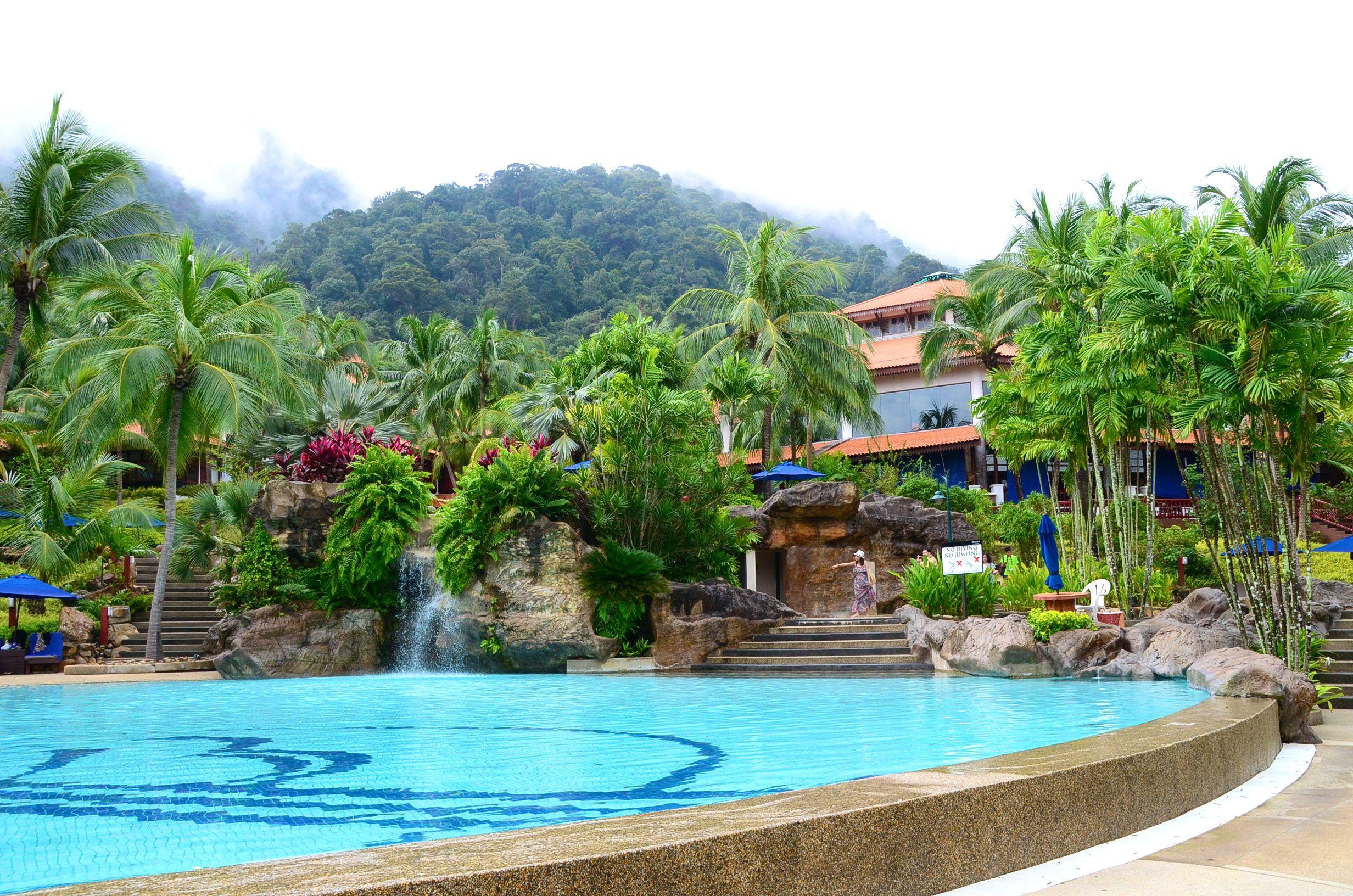 vom Strand– Bild von Berjaya Langkawi Resort - Malaysia, Langkawi ...