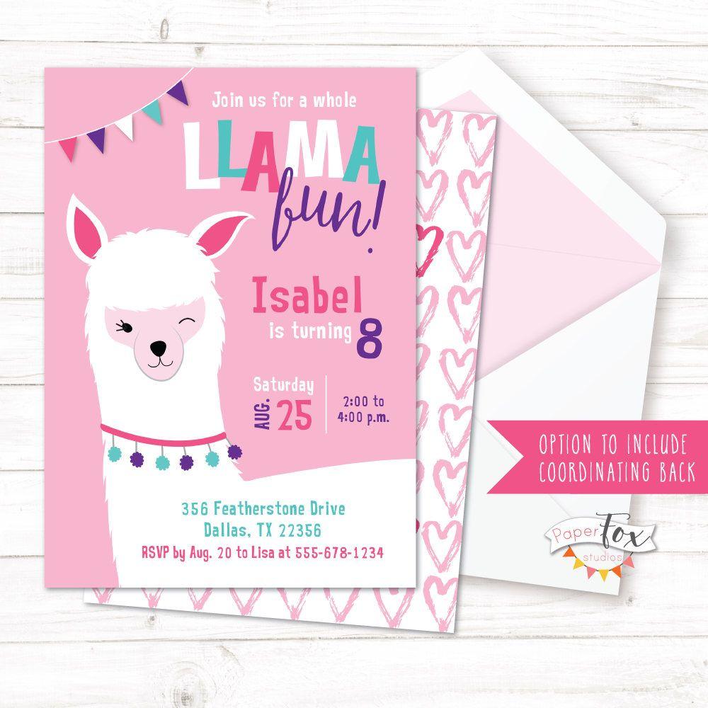 Pin By Summer Wooldridge On Pipers 2nd Birthday Llama Birthday