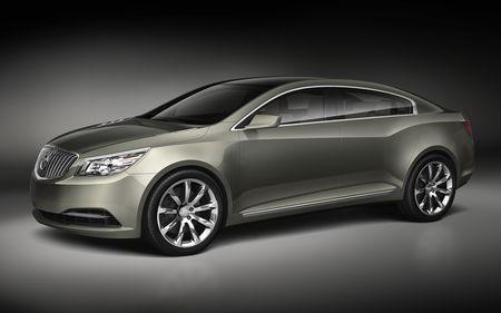 Buick Invicta Concept, anticipación del LaCrosse. http://www.diariomotor.com/