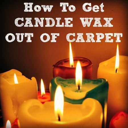 How To Get Candle Wax Out Of Carpeting Carpet Cleaning Hacks How To Clean Carpet Carpet Cleaning Recipes