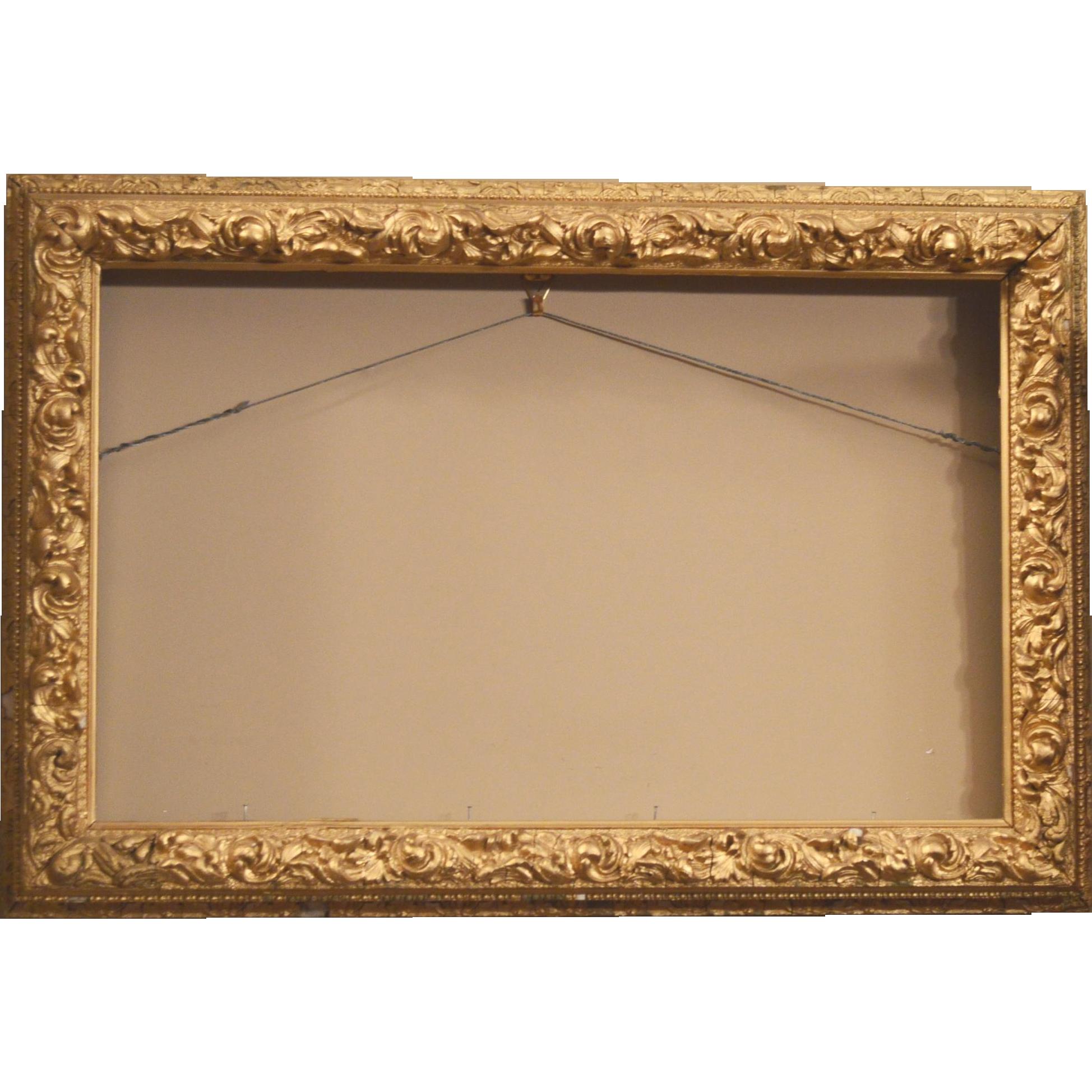 """Antique 1800/'s 12/"""" x 12/"""" TIN CEILING Tile Victorian Framed Beaded Design ORNATE"""