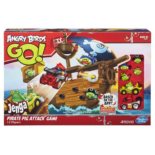 Angry Birds Go! Jenga Pirate Pig Attack Game - Hasbro - Toys  - fresh angry birds go jenga coloring pages