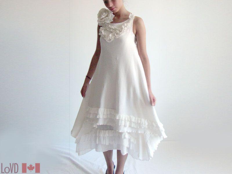 Unique Summer Renaissance Vintage Inspired Victorian Dress