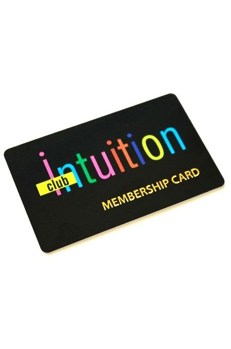 Club Intuition  Club Intuition Membership Card  Http