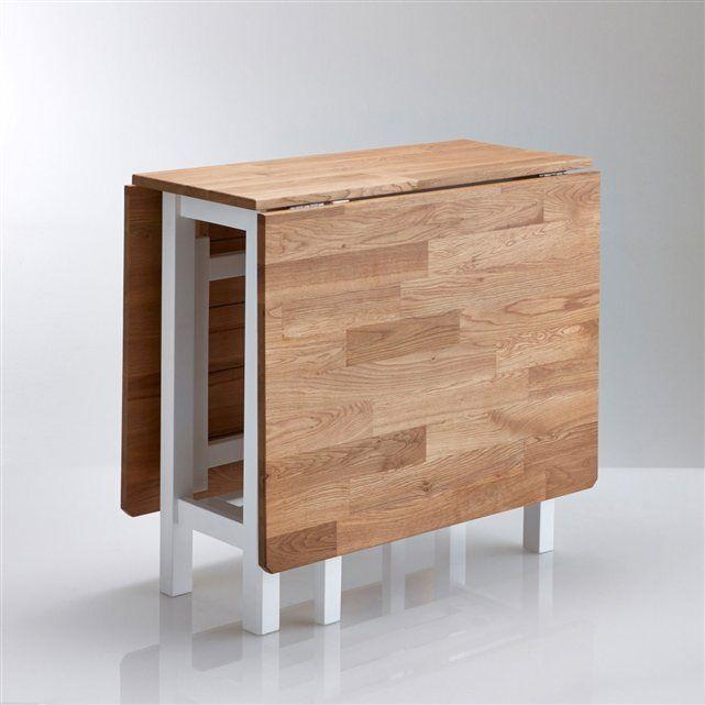 table de cuisine rabats ch ne massif adelita la redoute. Black Bedroom Furniture Sets. Home Design Ideas