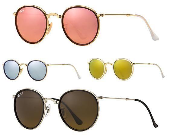 gafas ray ban mujer de colores