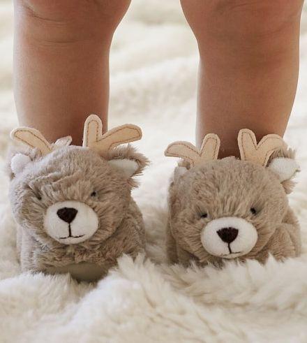 Sweet Fur Reindeer Slippers Rstyle Me Sweet Fur