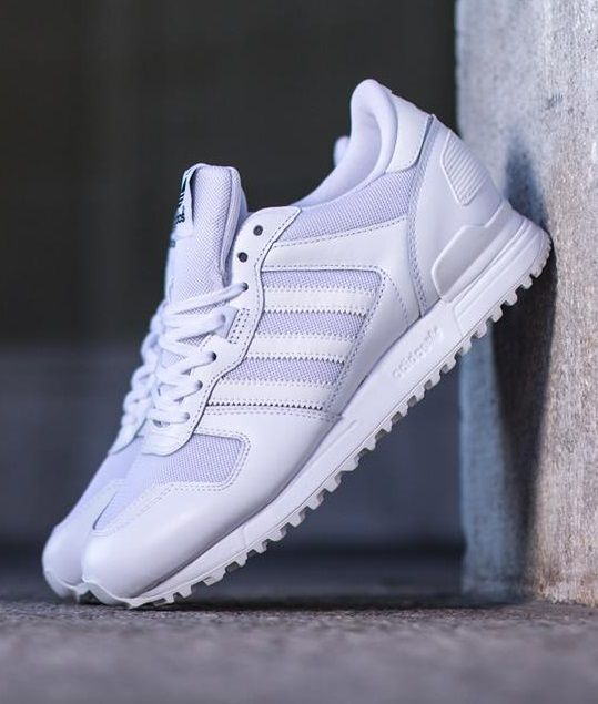 adidas originali zx 700: scarpe bianche: adidas zx 700