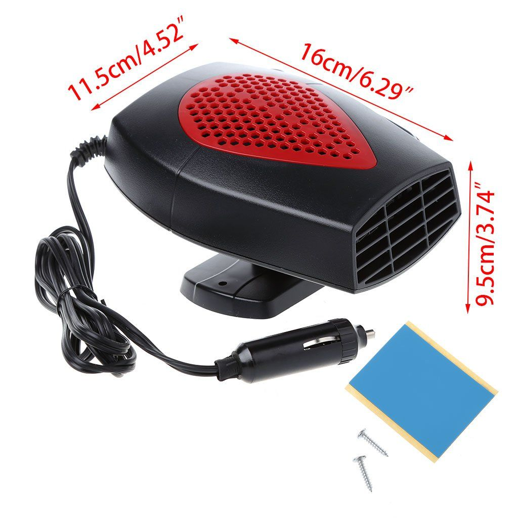 cici store 12V Portable Car Fan Heater Warmer and