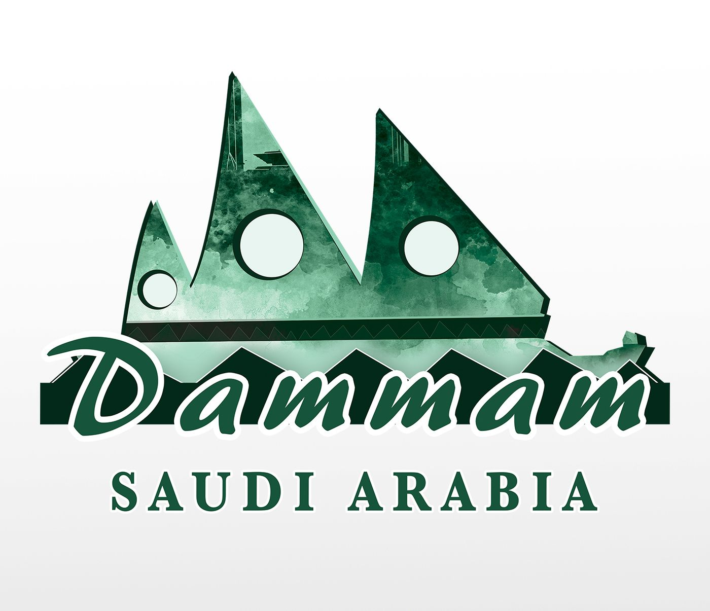 Pin By Yasser Antar On Dammam Logo Design To Saudi Signs