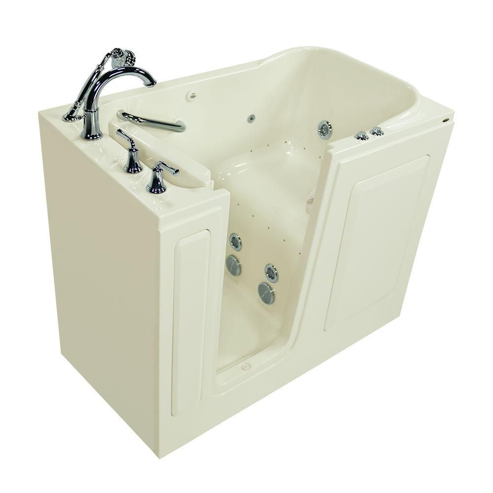 American Standard Exclusive Series 48 in. x 28 in. Walk-In Whirlpool ...