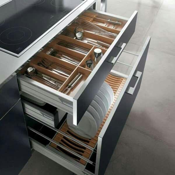 Organización de cocina | Kitchen ideas | Pinterest | Wohnung Küche ...