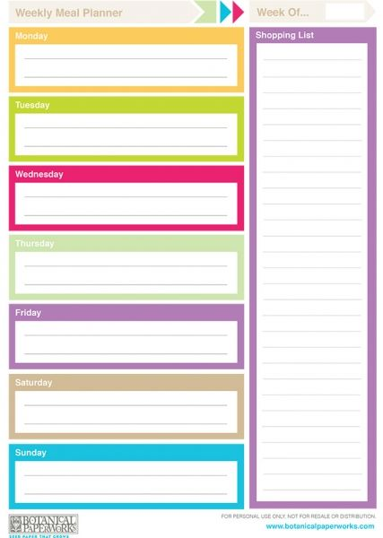 Printable Weekly Calendars 2014 Calendar Template Pinterest