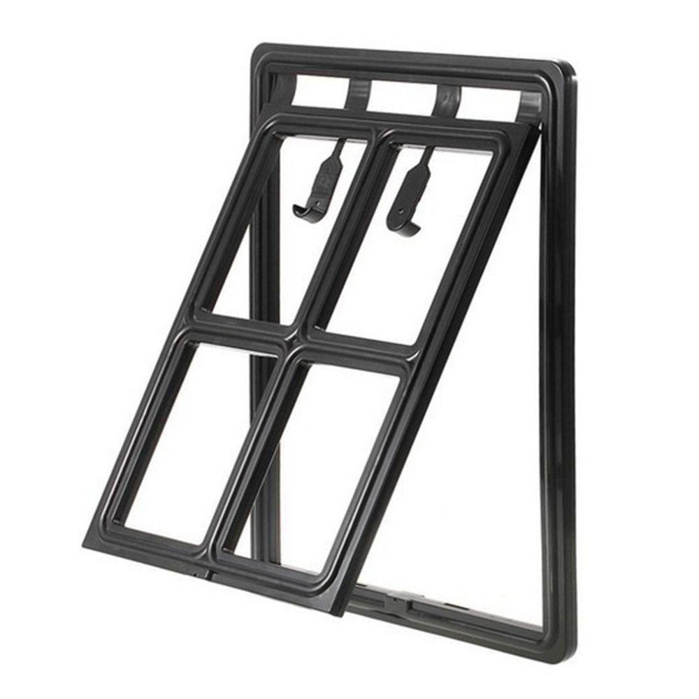 Pet's Black Plastic Door