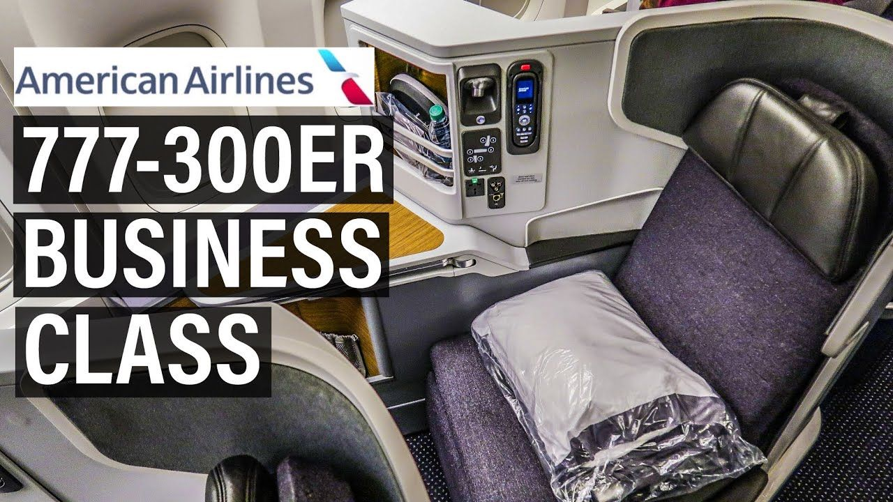 FANTASTIC American Airlines FLAGSHIP BUSINESS CLASS 777