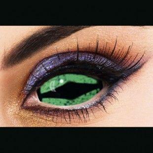 Dragon Green Sclera 22mm Green Contacts Lenses Green Contacts Contact Lenses