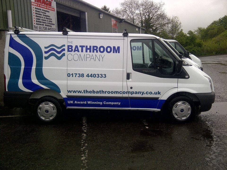 a1160b88e9 The Bathroom Company van branding for fleet of vans. Design Fraktul Vehicle  branding Instant Image Signs   Vehicle Graphics.