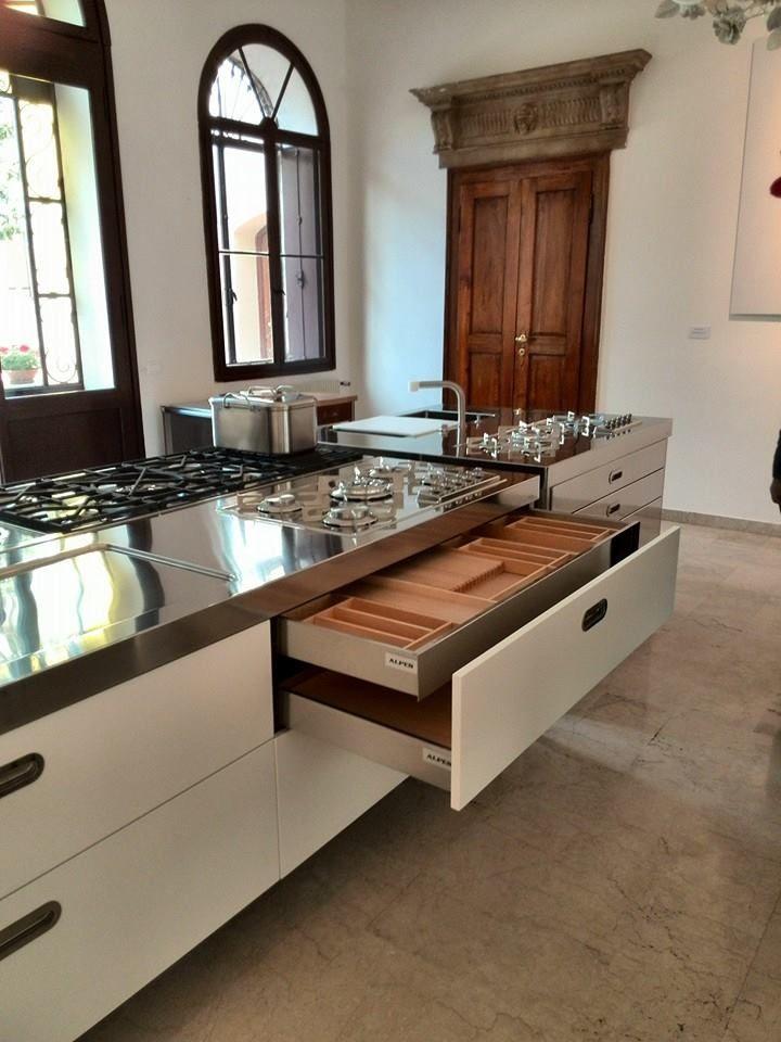 www.alpes-inox.de Showroom Bassano | Kitchen | Pinterest | Showroom