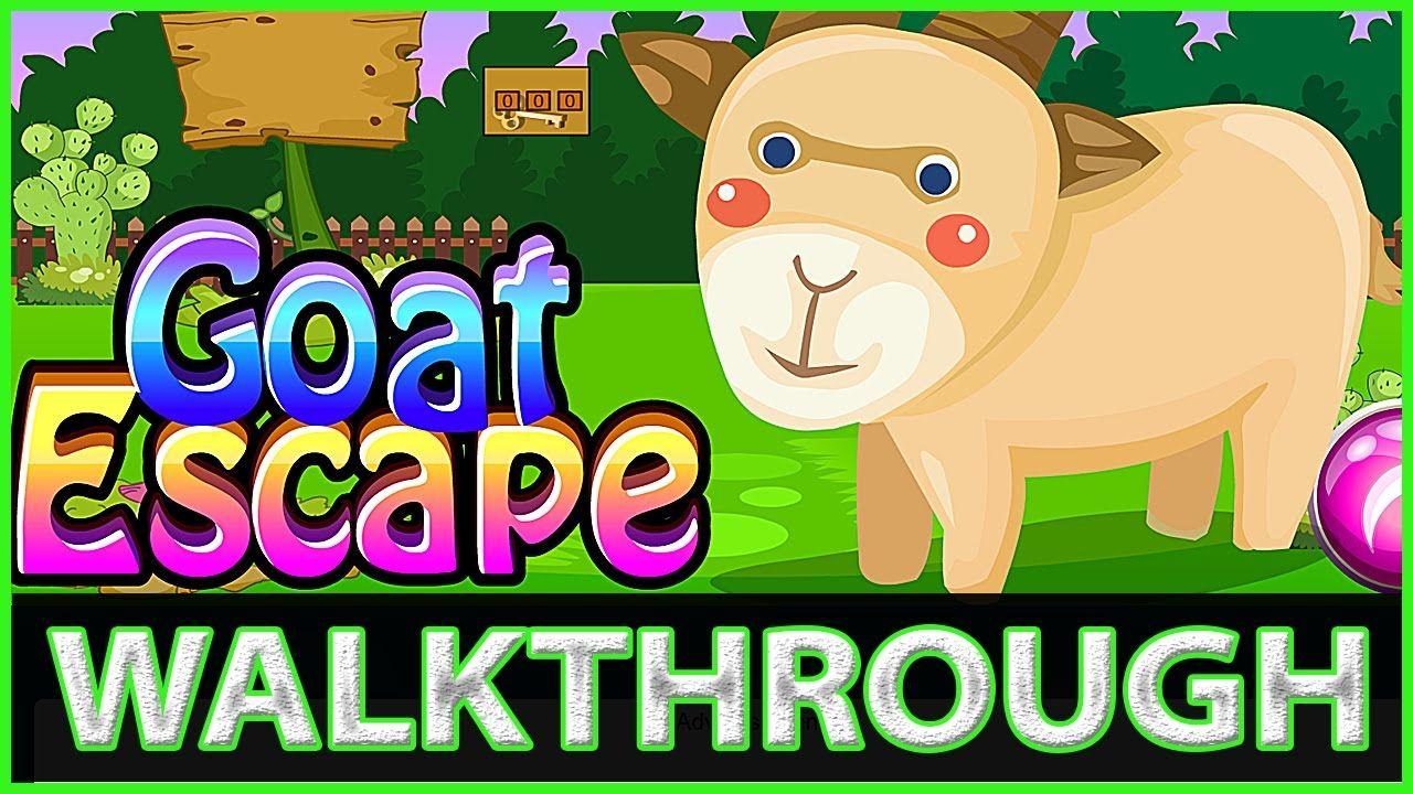 Free Online Game Goat Escape Walkthrough Top Score Gaming Indie Games Gamer Free Online Games Free Games Escape Game