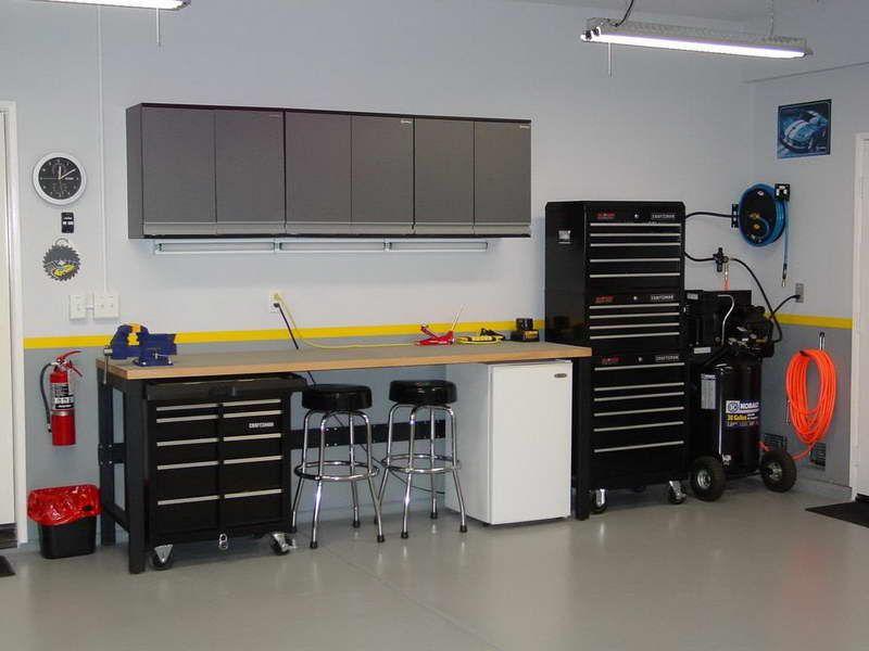 garage workbench designs