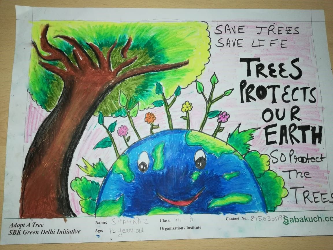 Why we need to save the trees? And what's importance of