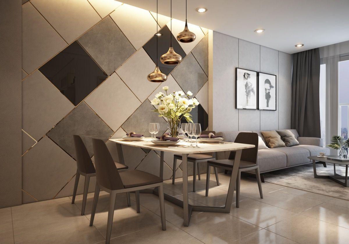 Small Modern Apartment Design With Asian And Scandinavian Influences Living Room Design Modern Modern Apartment Design Small Modern Living Room
