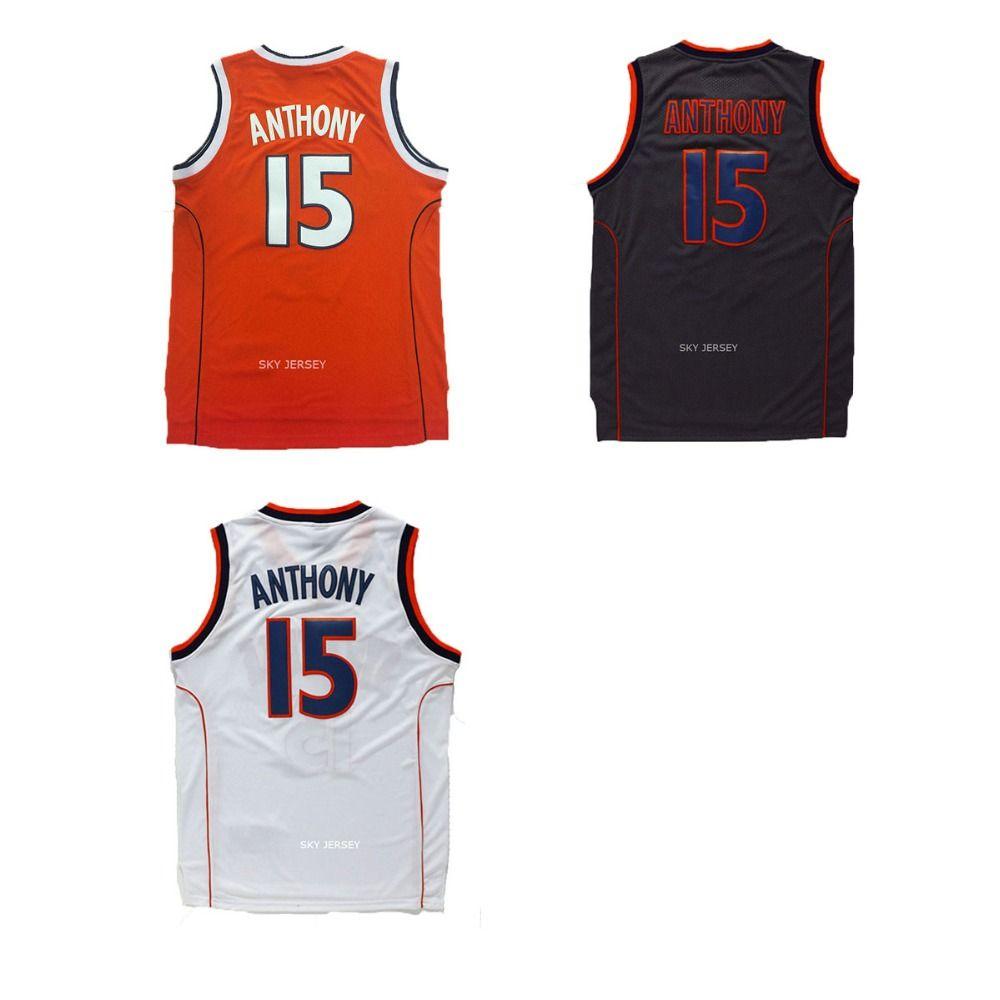 best website 3a3e8 aaf7c Aliexpress.com : Buy Carmelo Anthony SYRACUSE Jersey ...