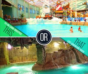 Camelback Lodge Aquatopia Indoor Water Park The Poconos Indoor Waterpark Water Park Poconos