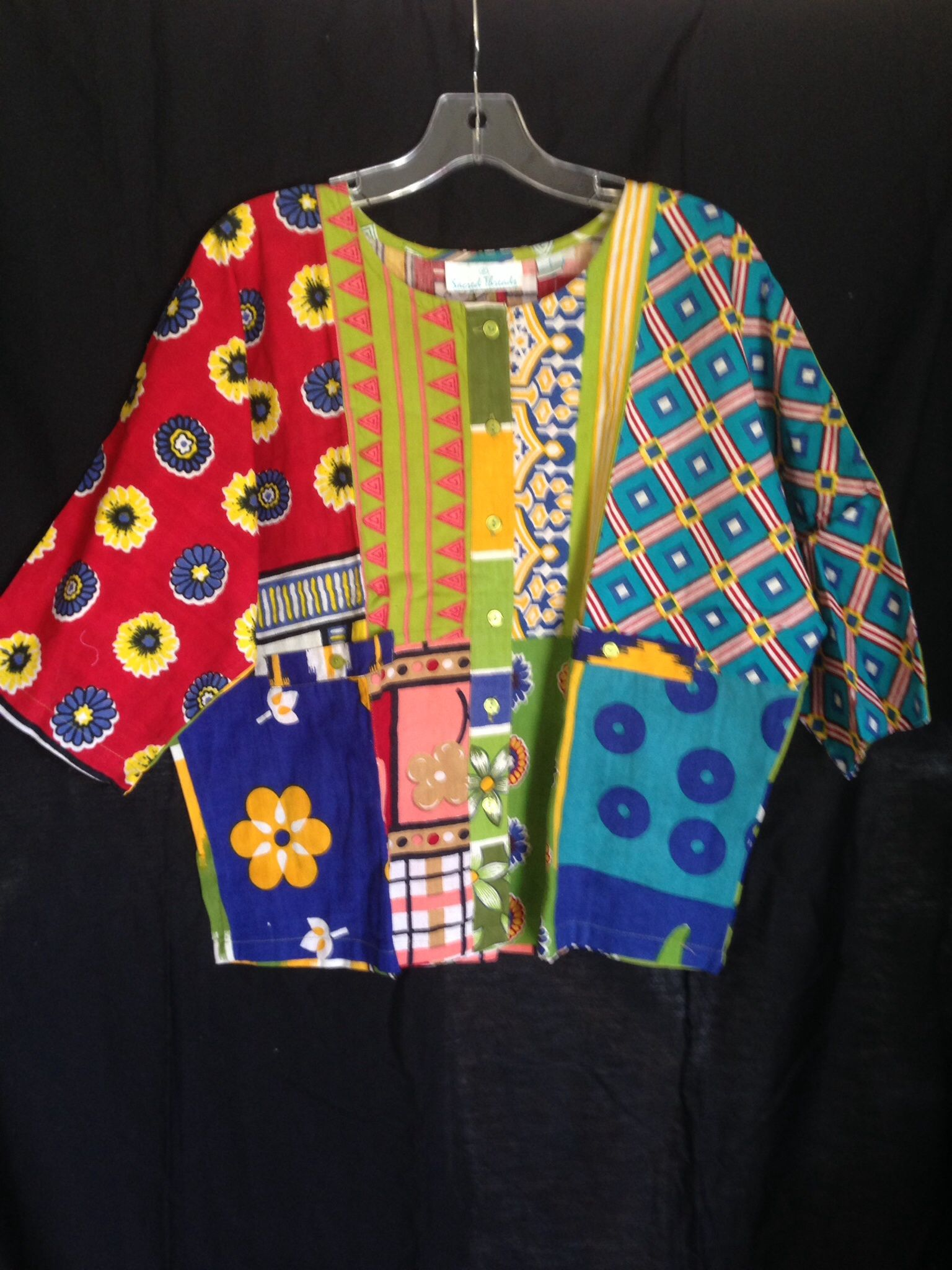Colorful Cotton top was $39.95 and now $9.98 at OFF Fourth Outlet Store.