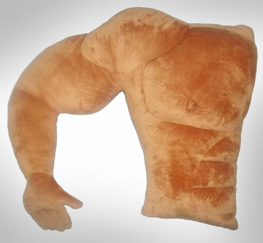 muscular arm boyfriend pillow unique gifts boyfriend pillow pillows funny christmas gifts. Black Bedroom Furniture Sets. Home Design Ideas