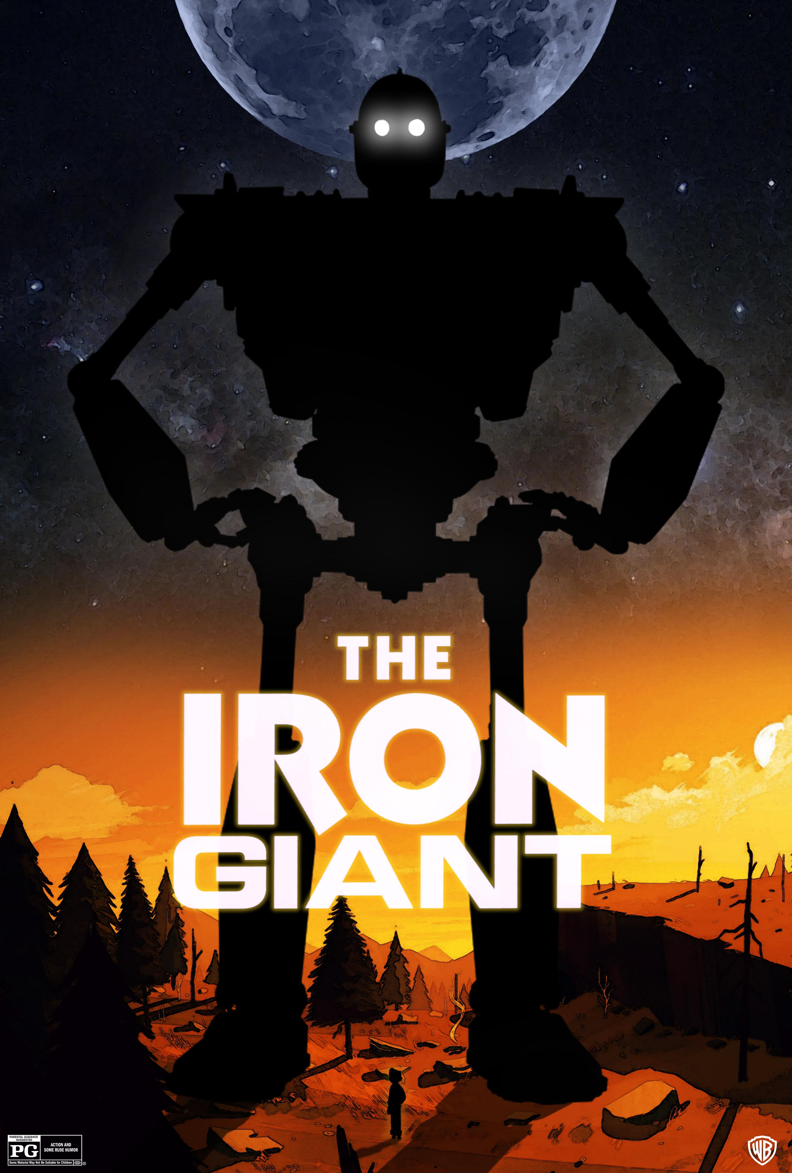 The Iron Giant OC ART Project - Beautifully designed interstellar posters james fletcher