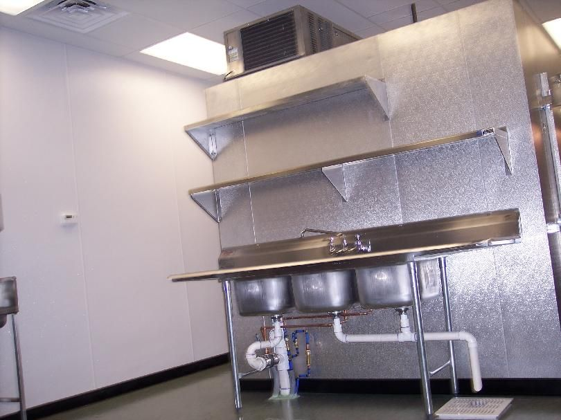 Commercial Kitchen Plumbing Design Enchanting Quality Stainless Mfg Inc Commercial Kitchen Design Decorating Design