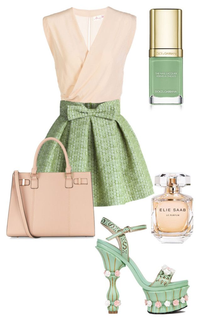 Untitled #86 by mias-fashion101 on Polyvore featuring polyvore, fashion, style, Chicwish, Akira Black Label, Elie Saab, women's clothing, women's fashion, women, female, woman, misses and juniors