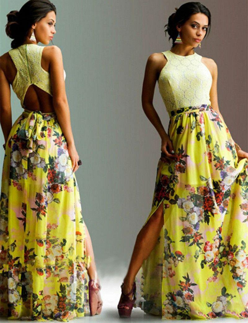 2f0b5eb58fecb32 1 109,36 руб. / шт. | AliExpress - Платья | Летние платья макси ...