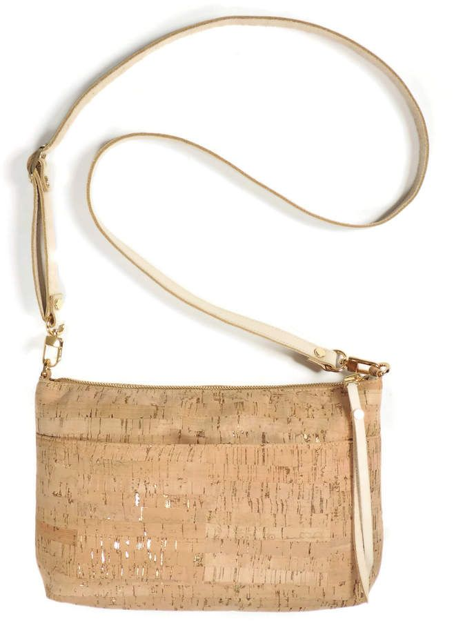 Spicer Bags Gold Cork Crossbody Purse  725faa4114843