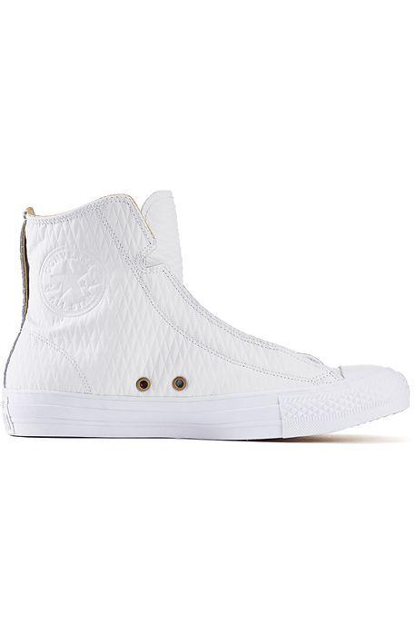 331c1974d8fa Converse Mens Chuck Taylor HiAlpha Tall White Out Sneaker