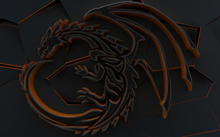 Télécharger Fonds Décran 3d Dragon Signe Sombre 3d Fond