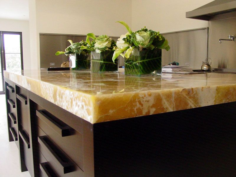 Onyx Countertop Kitchen Design Countertops Modern Kitchen Kitchen Countertops
