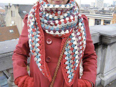 Pin de lupita garcia en bufandas   Pinterest   Artesanía, Cosas y Tejido