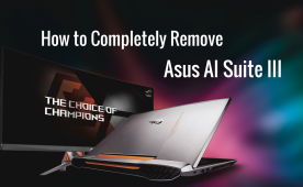 How to Uninstall/Remove Asus AI Suite III, EZ update and Fan