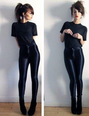 rir all black glam