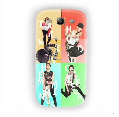 5 seconds of summer Photo pose For Samsung Galaxy S3 Case