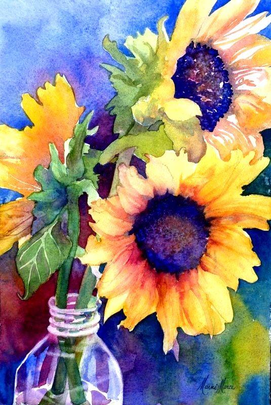 Sunflower /& Hummingbird Still I Rise Black//White Canvas 0.75in Framed